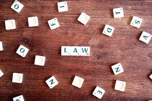 scrabble word law
